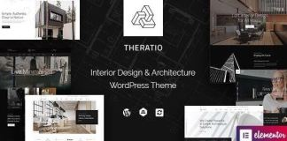 Theratio - Architecture & Interior Design Theme For Elementor