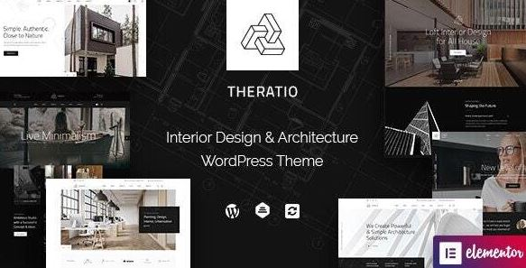 Theratio - Architecture & Interior Design Theme For Elementor