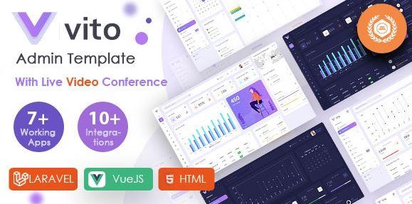 Vito - Vue, Laravel, HTML Admin Dashboard Template