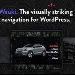 Wauki - Fullscreen WordPress Menu
