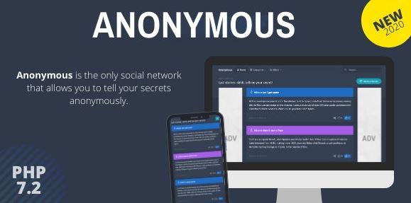 Anonymous – Secret Confessions Social Network