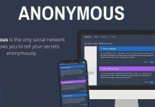 Anonymous - Secret Confessions Social Network