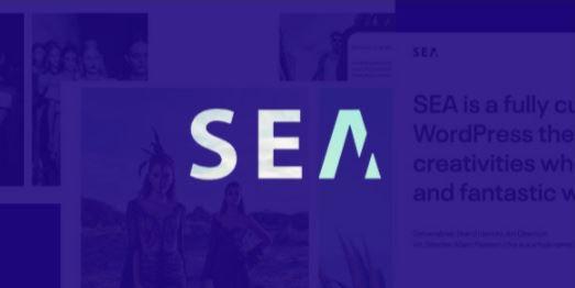Gallery SEA v1.8.1 – Responsive Creative Multipurpose WordPress Theme