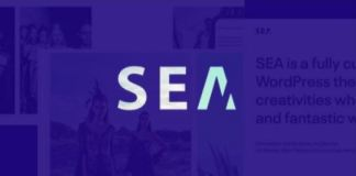 Gallery SEA - Responsive Creative Multipurpose Wordpress theme