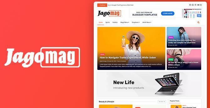 Jagomag – Best Magazine Blogger Template
