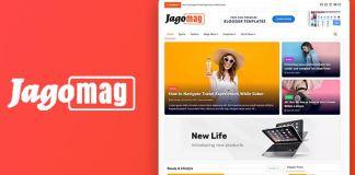 Jagomag - Best Magazine Blogger Template