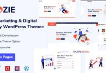 Seozie - SEO & Digital Marketing WordPress Theme