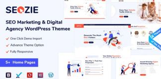 Seozie - SEO & Digital Marketing WordPress Theme