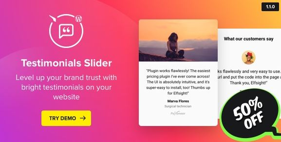 Testimonials Slider v1.6.1 – WordPress Testimonials Plugin