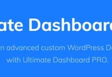 Ultimate Dashboard Pro - Full Control Over Your WordPress Dashboard