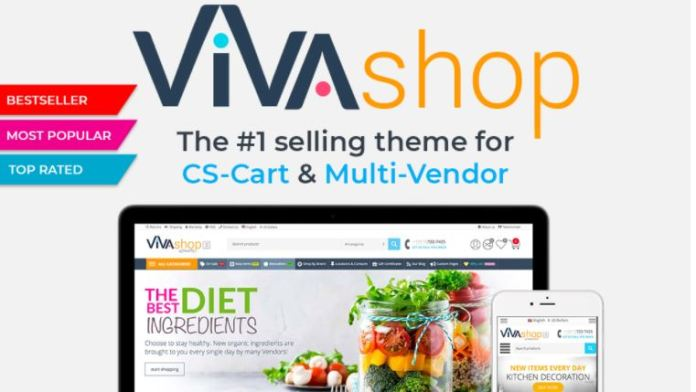 VIVAshop - The #1 selling theme for CS-Cart and Multi-Vendor