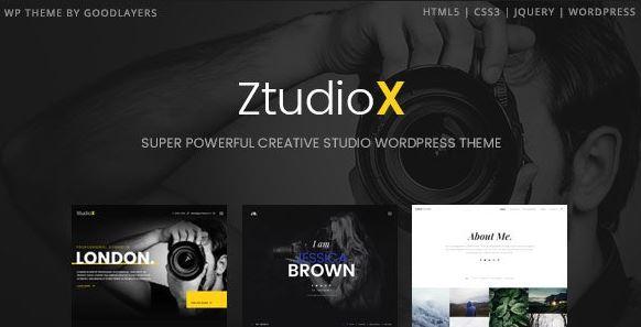 Ztudio X v1.3.0 – Photography WordPress Theme