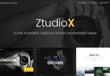 Ztudio X - Photography WordPress Theme