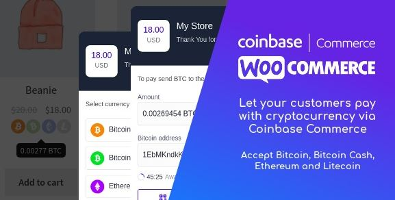 Coinbase trading for WooCommerce