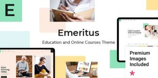 Emeritus - Education and Online Courses Theme