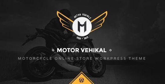 Motor Vehikal v1.4.3 – Motorcycle Online Store WordPress Theme
