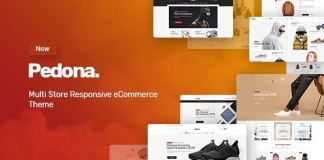Pedona - Fashion & Sport Theme for WooCommerce WordPress