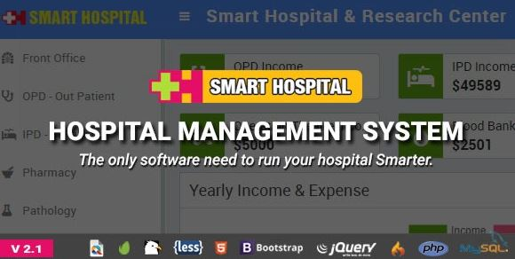 Smart Hospital – Hospital Management System