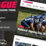 The League - Sports News & Magazine WordPress Theme