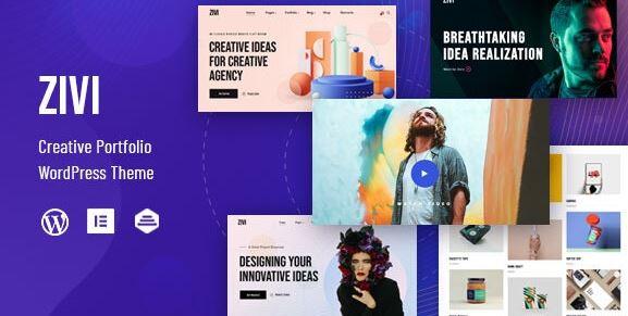 GV - Contemporary Creative Agency Theme