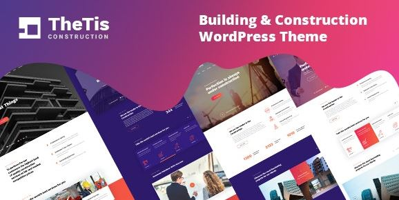 TheTis - Construction and Architecture WordPress Theme