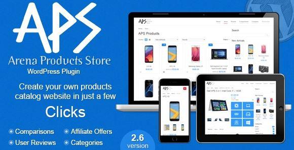 Arena Products Store - WordPress Plugin