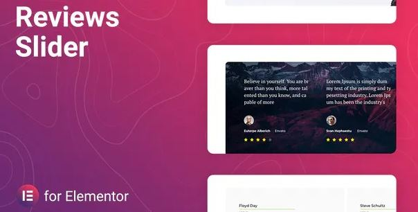 Reviewer – Reviews Slider for Elementor