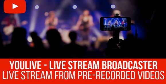YouLive - Live Stream Broadcaster Plugin for WordPress