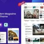 Evior - Modern Magazine WordPress Theme