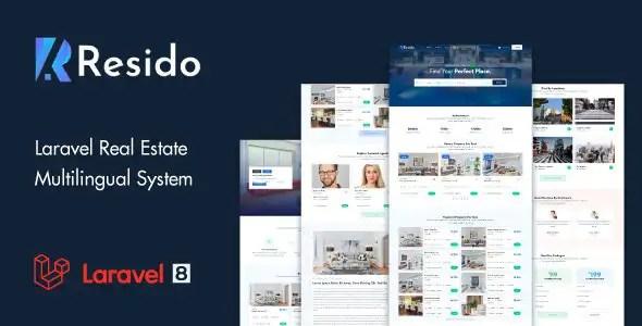 Resido - Laravel 房地产多语言系统