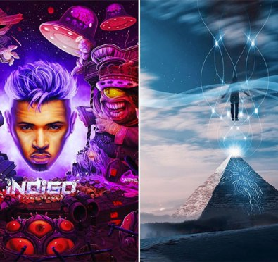 Chris Brown Unveils Ninth Album 'Indigo' 30 Track Album Cover+Drake, Justin Bieber, Tank, H.E.R., Juvenile, Nicki Minaj & More To Feature