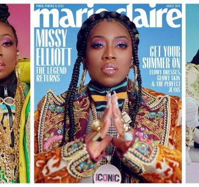 Legend Missy Elliott Dishes On Highly Anticipated Seventh Album, Historic Career, Hiatus From Music & More with Marie Claire [Photos/Video]