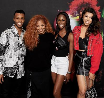 The Category Is--Metamorphosis! 'Pose' Cast Turns Up with Janet Jackson Ahead of Her Final Dates of Vegas Residency