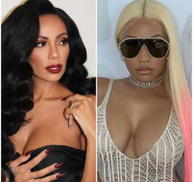 Watch: Nicki Minaj Fans Confront and Harass Erica Mena at Rihanna's Diamond Ball