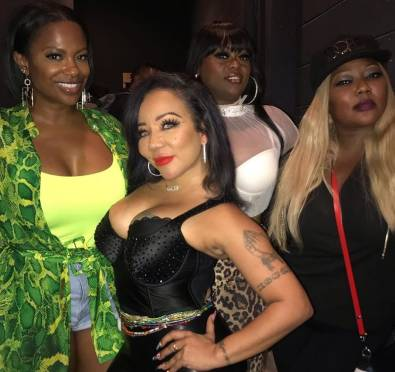 It's Official! Kandi Confirms She Will Join Xscape For Final Album Thanks To Mama Joyce [Video]