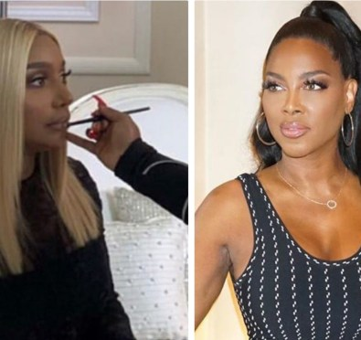 NeNe Leakes & Kenya Moore Feud Explodes During 'RHOA' S12 Finale Taping Over NeNe & Marc Daly Friendship, NeNe Allegedly Attempts To Spit on Kenya [Details]