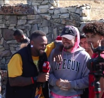 Chris Brown Draws Massive Crowds at His Home For Public Yard Sale [Videos]