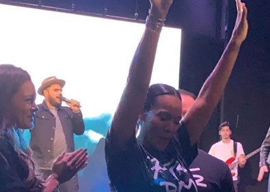 Change of Heart: Evelyn Lozada Got Baptized & Gave Her Life to GOD This Past Weekend