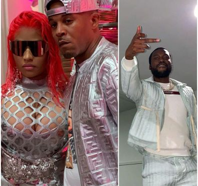 Watch: Nicki Minaj, Her Husband and Meek Mill Get Into Verbal Altercation in Hollywood Clothing Store