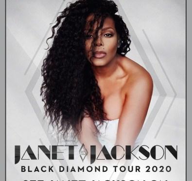 Janet Jackson Announces New Album 'Black Diamond' & Accompanying 2020 Tour