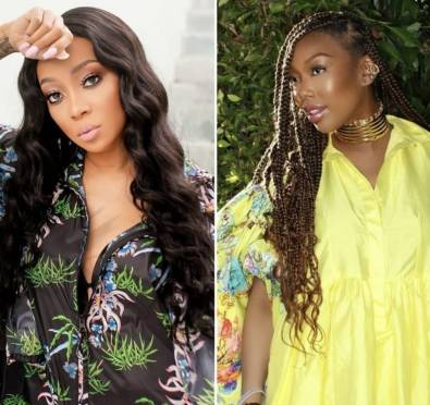 Here For It: Monica Shows Brandy Love, Hails Her One of The Greatest While Revisiting The Classic 'Full Moon' Album [Photo]