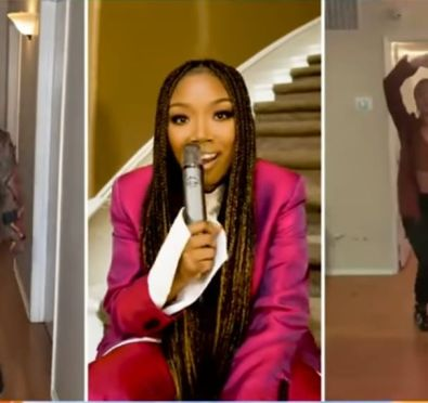 Watch: Brandy Performs 'Baby Mama' on 'GMA'+Announces 'B7' Release Date