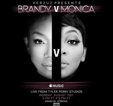 It's Official! Brandy & Monica 'Verzuz' Date Announced Live From Tyler Perry Studios