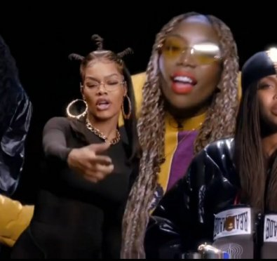 Must See: Brandy, Teyana Taylor, H.E.R. & Erykah Badu SLAY 'I Wanna Be Down/Ladies First' Cypher at BET Hip Hop Awards 2020