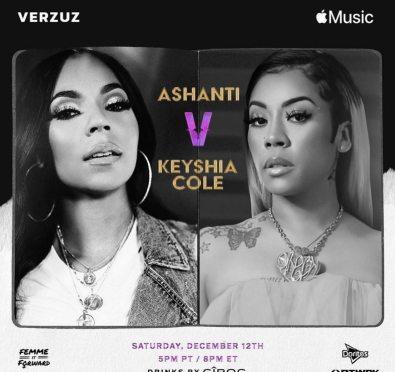It's Official! 'Verzuz' Presents Ashanti vs. Keyshia Cole Set For Next Weekend
