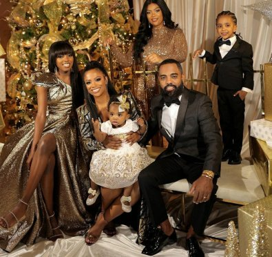 Kandi Burruss-Tucker & Todd Tucker Unveil Adorable Family Holiday Photo Shoot Snaps