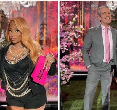 It's Official! Nicki Minaj Joins Andy Cohen & The Ladies of 'The Real Housewives of Potomac' For Season 6 Reunion Taping [Photos]