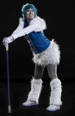 Christmas Ice Girl