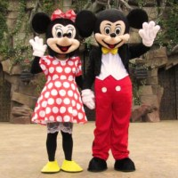 Mickey & Minnie Mouse Mascot