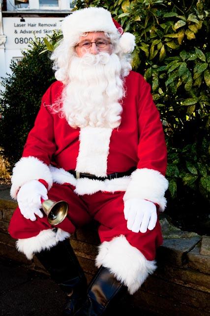 Santa Claus in London
